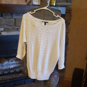 White house black market winter sweater